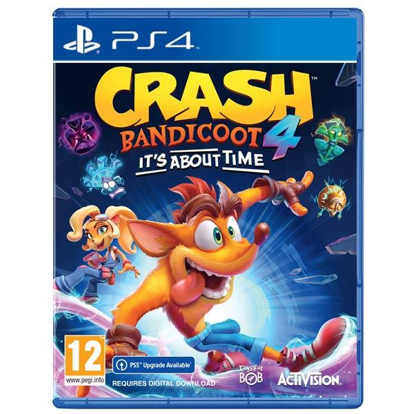 Crash Bandicoot 4: It's About Time [PS4] - BAZÁR (použitý tovar)