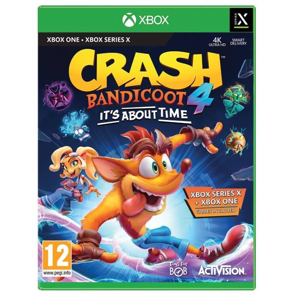 Crash Bandicoot 4: It's About Time [XBOX ONE] - BAZÁR (použitý tovar)
