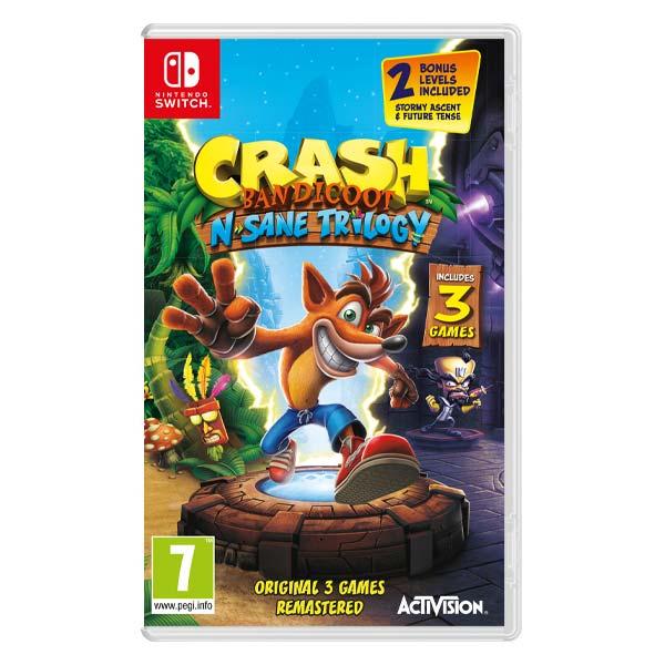 Crash Bandicoot N.Sane Trilogy [NSW] - BAZÁR (použitý tovar)