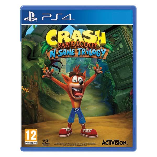 Crash Bandicoot N.Sane Trilogy [PS4] - BAZÁR (použitý tovar)