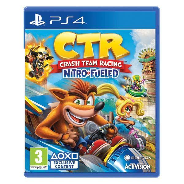 Crash Team Racing Nitro-Fueled [PS4] - BAZÁR (použitý tovar)