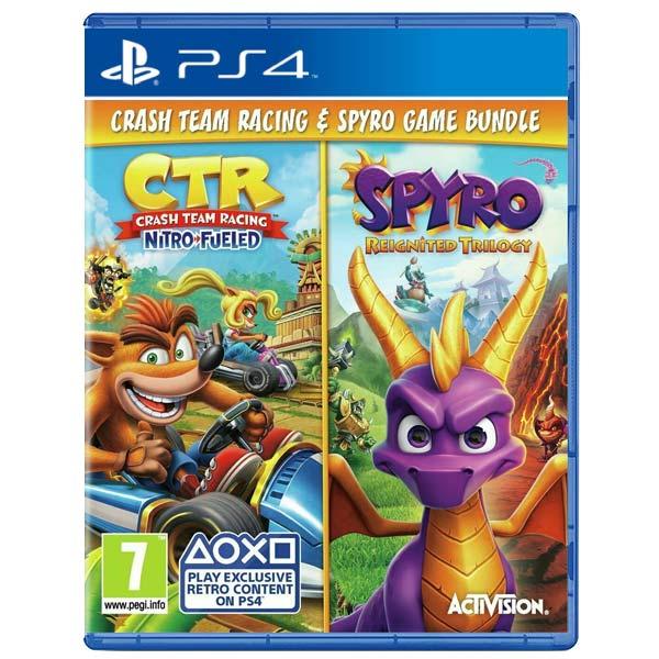 Crash Team Racing: Nitro Fueled & Spyro: Reignited Trilogy (Bundle)