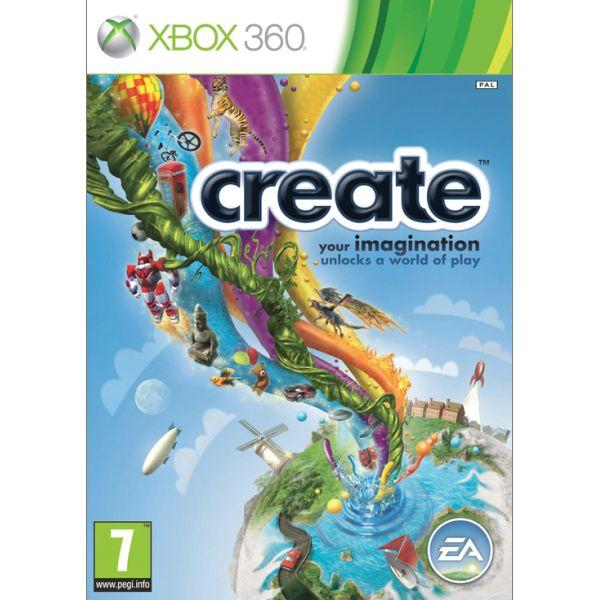 Create [XBOX 360] - BAZÁR (použitý tovar)