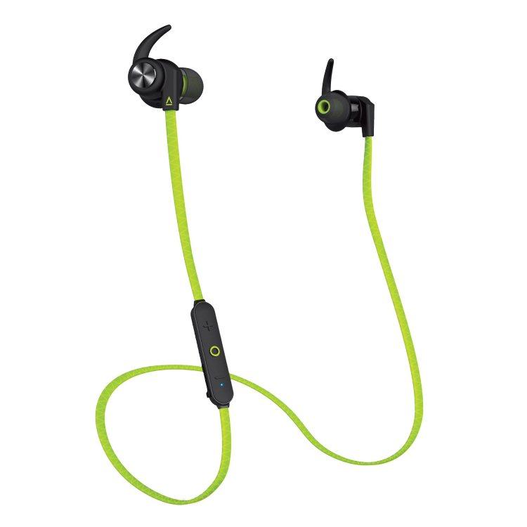 Creative Outlier Sports Bluetooth Headphones, Green
