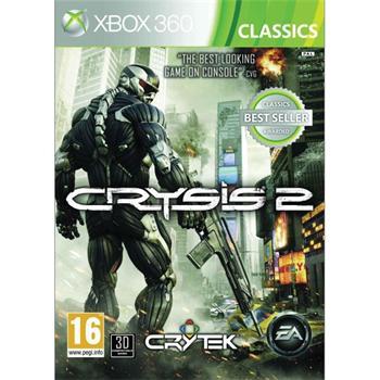 Crysis 2 CZ- XBOX360 - BAZÁR (použitý tovar)