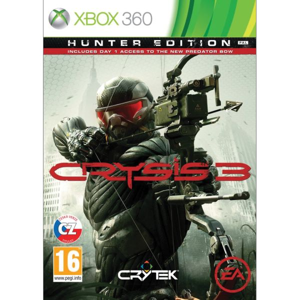 Crysis 3 CZ (Hunter Edition)