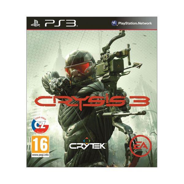 Crysis 3 CZ -PS3 - BAZÁR (použitý tovar)