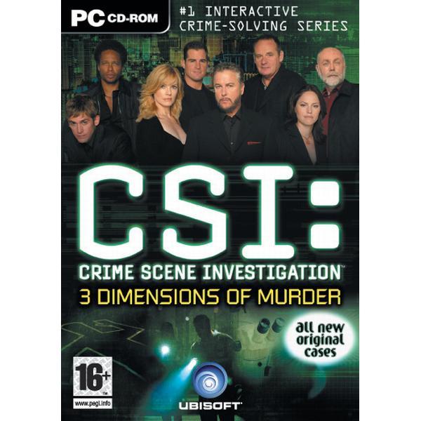 CSI Crime Scene Investigation: 3 Dimensions of Murder