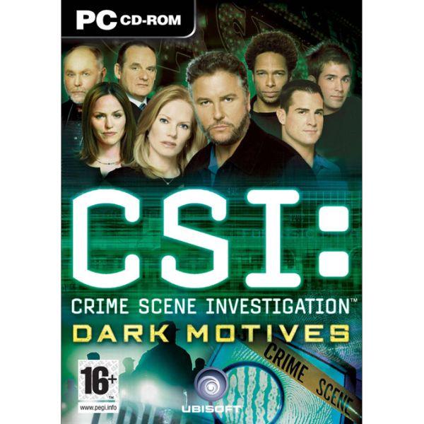 CSI Crime Scene Investigation: Dark Motives