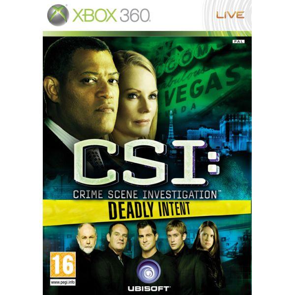 CSI Crime Scene Investigation: Deadly Intent