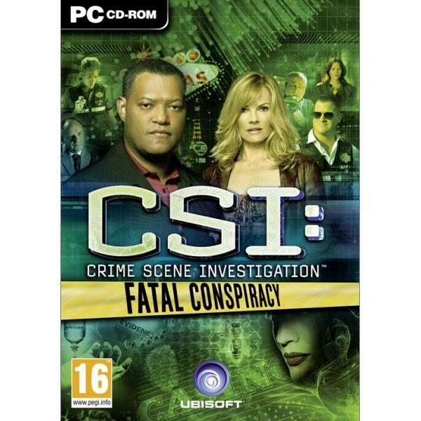 CSI Crime Scene Investigation: Fatal Conspiracy