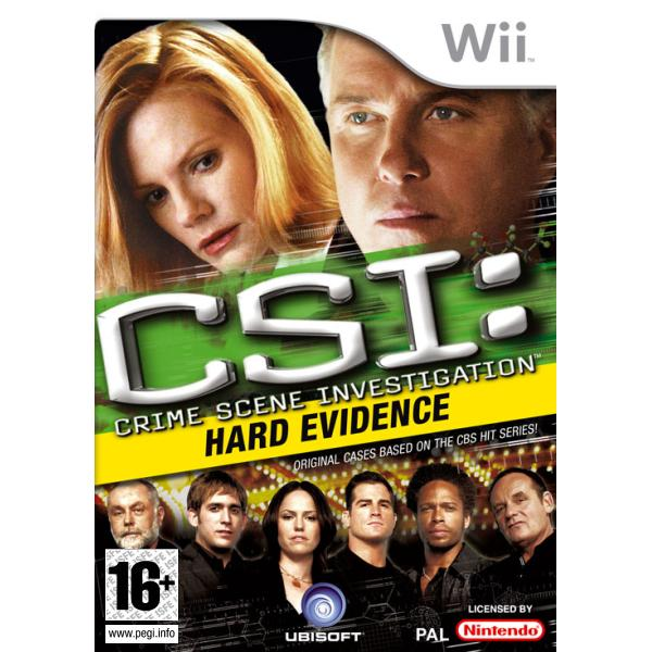 CSI Crime Scene Investigation: Hard Evidence