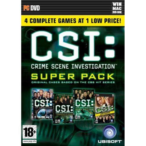 CSI: Crime Scene Investigation Super Pack