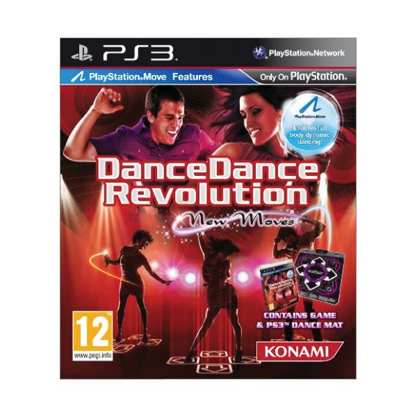 Dance Dance Revolution: New Moves + tane�n� podlo�ka