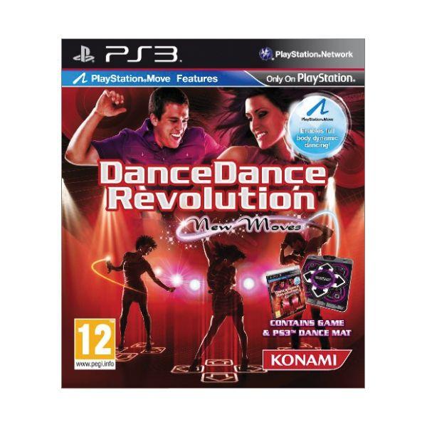 Dance Dance Revolution: New Moves + taneèná podložka