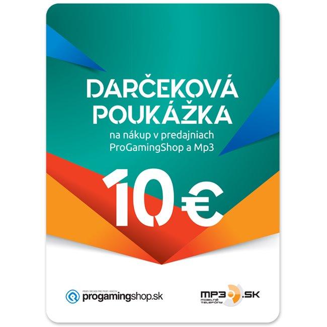 Darèeková poukážka 10€