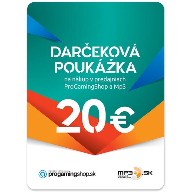 Darèeková poukážka 20€