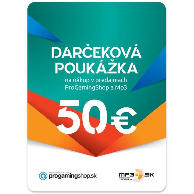 Darèeková poukážka 50€