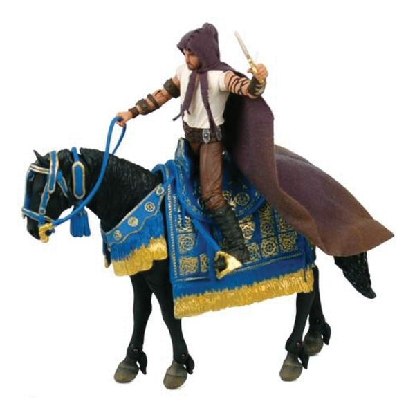 Dastan with Horse (Prince of Persia: The Sands of Time)