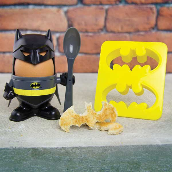 DC Comics Egg Cup & Toast Cutter Batman