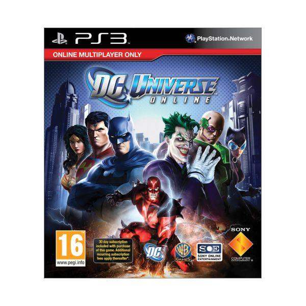 DC Universe Online [PS3] - BAZÁR (použitý tovar)