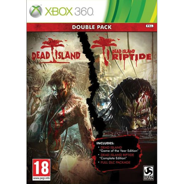 Dead Island + Dead Island: Riptide (Double Pack) XBOX 360