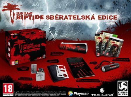 Dead Island: Riptide zberateľská edícia cz [XBOX 360] - BAZÁR (použitý tovar)
