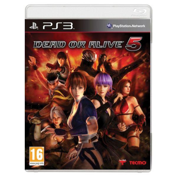 Dead or Alive 5 [PS3] - BAZÁR (použitý tovar)