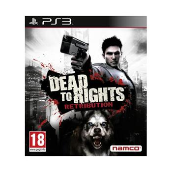 Dead to Rights: Retribution [PS3] - BAZ�R (pou�it� tovar)