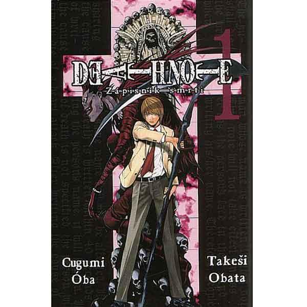 Death Note - Zápisník smrti 01 komiks