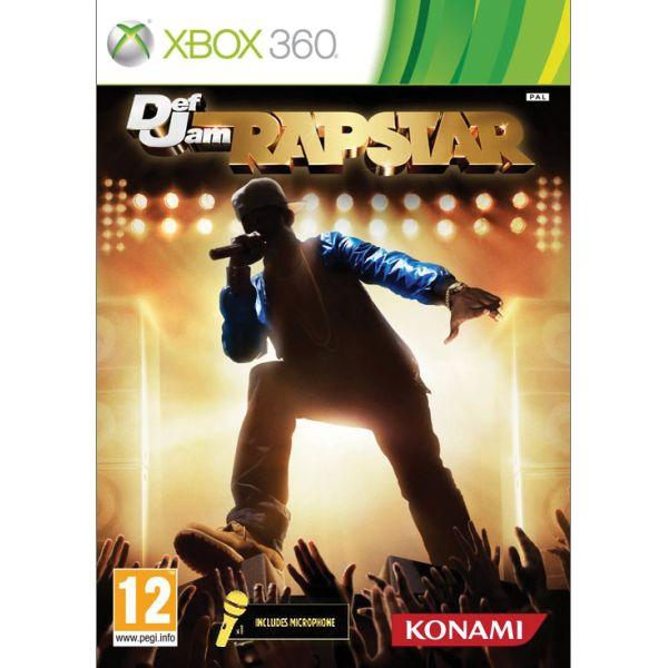 Def Jam: Rapstar + mikrofón XBOX 360