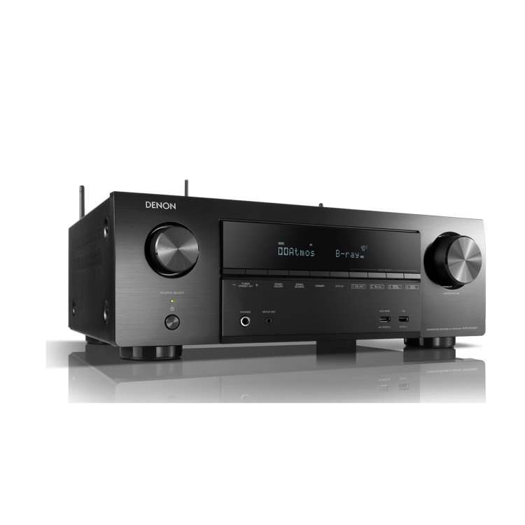 Denon AVR-X1500H - 7.2 Channel AV Reciever, Black