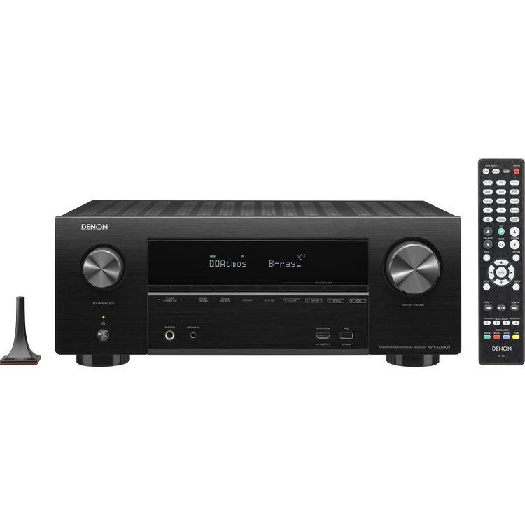Denon AVR-X2500H - 7.2 Channel AV Reciever, Black