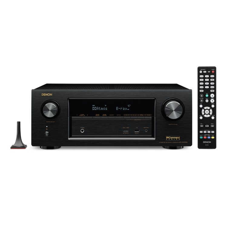 Denon AVR-X3300W - 7.2 Channel AV Receiver, Black