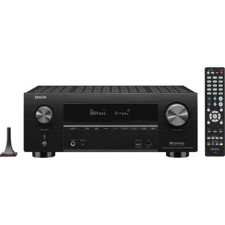 Denon AVR-X3500H - 7.2 Channel AV Reciever, Black