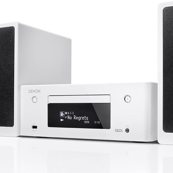 Denon CEOL N9, sie�ov� audio syst�m, White