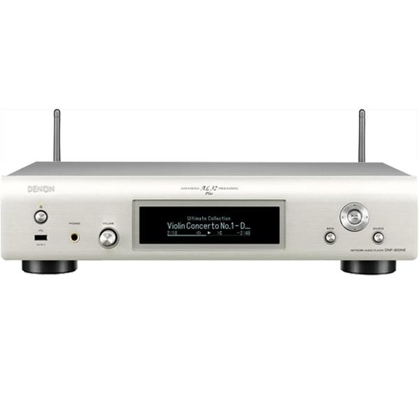 Denon DNP-800NE, sie�ov� prehr�va� hudby, silver