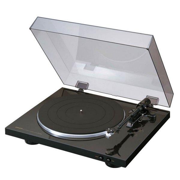 Denon DP-300F, gramofón, Black
