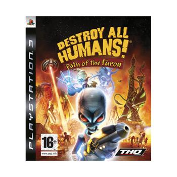 Destroy All Humans! Path of the Furon [PS3] - BAZÁR (použitý tovar)