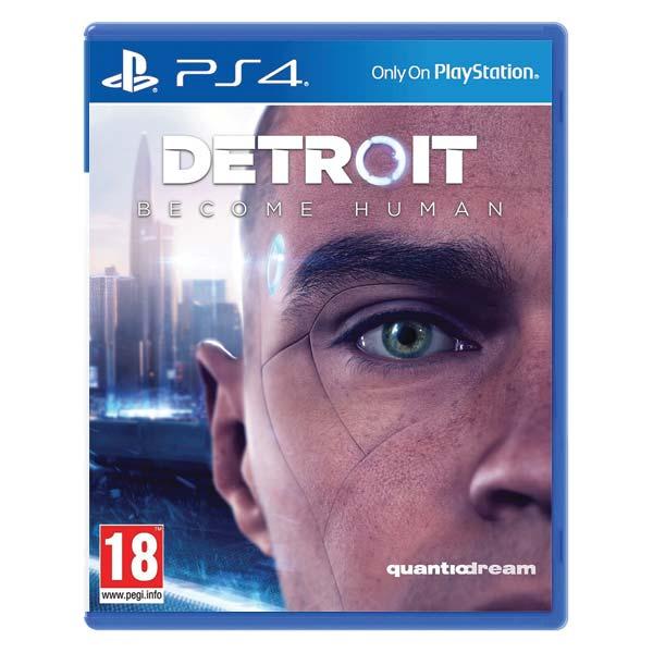 Detroit: Become Human CZ [PS4] - BAZÁR (použitý tovar)