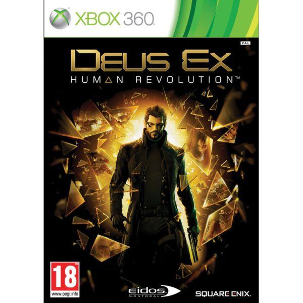 Deus Ex: Human Revolution [XBOX 360] - BAZÁR (použitý tovar)
