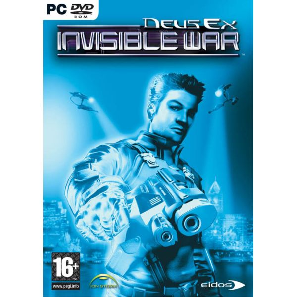 Deus Ex: Invisible War DVD PC