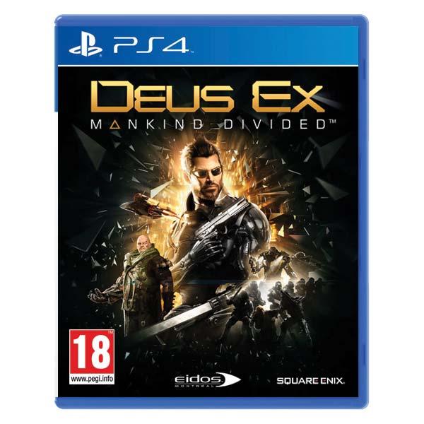 Deus Ex: Mankind Divided [PS4] - BAZÁR (použitý tovar)