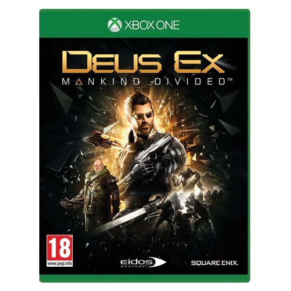 Deus Ex: Mankind Divided [XBOX ONE] - BAZÁR (použitý tovar)