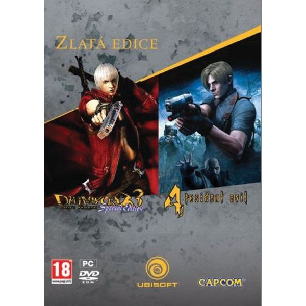 Devil May Cry 3: Dante's Awakening (Special Edition) + Resident Evil 4