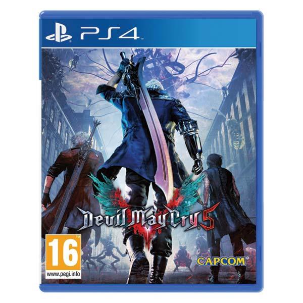 Devil May Cry 5 [PS4] - BAZÁR (použitý tovar)