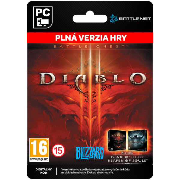 Diablo 3 (Battle Chest) [Battle.net]