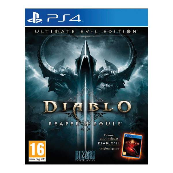 Diablo 3: Reaper of Souls (Ultimate Evil Edition) [PS4] - BAZ�R (pou�it� tovar)
