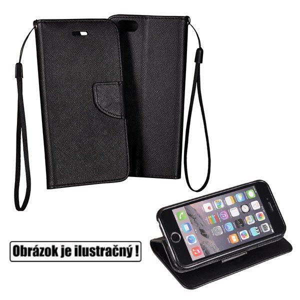 Diárové puzdro Fancy pre HTC Desire 626, Black
