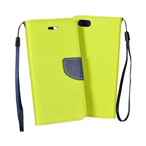 Diárové puzdro Fancy pre HTC Desire 820, LimeBlue